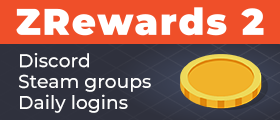 ZRewards 2 - Discord, Steam, Referral, Daily login, Name tag rewards