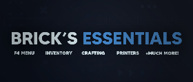 Brick's Essentials - F4, Inventory, Crafting, Printers, Armory, Bank, Levelling