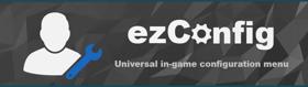 ezConfig - Universal in-game configuration menu