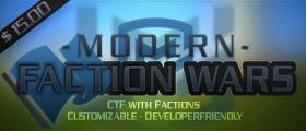 Modern Faction Wars - Capture the Flag