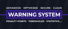 ⚠️ Warning System | Manage your server much better
