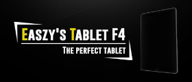 Easzy's Tablet F4 | The perfect tablet