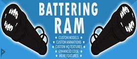 DarkRP Battering Ram (Door Display, Level System & Custom Models)