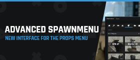 Advanced Spawn Menu - New interface, new features (props menu/Q-menu)