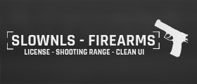 [-30%] 🔫 SlownLS - Firearms | Gun license & Shooting range