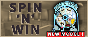Spin 'N' Win - Casino Wheel of fortune [NEW MODEL!]