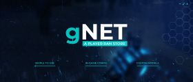 gNet - A player ran store ( In-game config, logs )