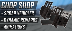 Chop Shop (Scrap Vehicles, Dynamic Rewards, Custom Model & Animations)