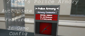 [r1] 2155X's Police Armory [autoupdate] [ingame cfg]