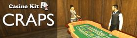 Casino Kit: Craps (Chip Exchange, 3D2D, Custom Models & More)