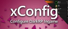 xConfig | Configure DarkRP Ingame!