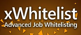 xWhitelist | Advanced Job Whitelisting