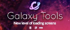 Galaxy Tools - Advanced loading screen