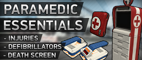 Paramedic Essentials (Defibrillators, Health Kit, Injuries & Custom Models)