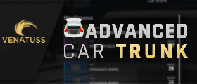 Advanced Car Trunk - Store items in your car inventory