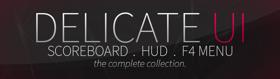 Delicate UI - HUD, F4, Scoreboard