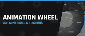Animation Wheel - Dances, gestures and actions