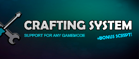 🔧 Crafting System [Time, Workbench, In-Game Config] 🔨
