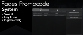Fades Promocode System