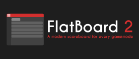 FlatBoard 2 - A modern scoreboard for any gamemode