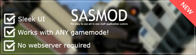 SASMod - In-game staff application system!