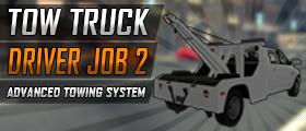 Tow Truck Driver Job 2 (Tow Trucks, Fine System, Service Calls, Custom Models)