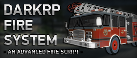 DarkRP Fire System (Fire Fighters, Extinguishers, Fire Axe, Fire Trucks)