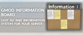 GMod Information Board