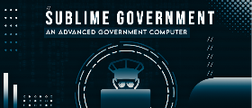 Sublime Government(Police & Mayor Computer)