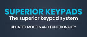 🔐 Superior Keypads · !NEW MODELS! · Continuous Feature Updates