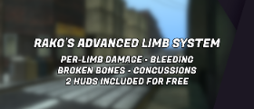 🩸 Rako's Advanced Limb System 🔥 Now with bLogs support! 📋
