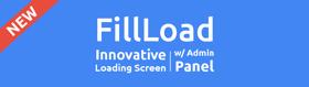 FillLoad - Innovative GMOD loading screen w/ Admin Panel