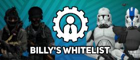 📇 Billys Whitelist (bWhitelist) Job Whitelisting System [DarkRP StarWarsRP]
