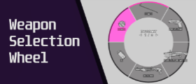 Weapon selection wheel [Customizable, Quick switch]
