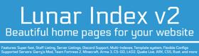 ¡👾☄️ Lunar Index v2 ☄️👾 A beautiful multi-index for your website