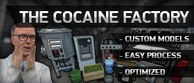 The Cocaine Factory (Custom Models, Blend Sequences & Donator Features)
