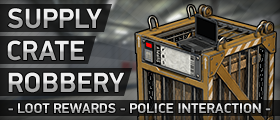 Supply Crate Robbery (Steal Loot & Survive Police)