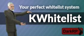 kWhitelist - whitelist system for your darkrp server