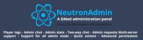 NeutronAdmin - A GMod administration panel