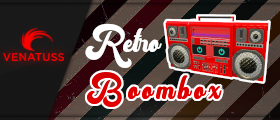 Retro Boombox - Real radio streams for your players
