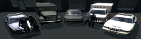 DarkRP Government Vehicles Station