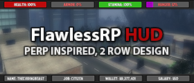 FlawlessRP HUD - PERP inspired HUD