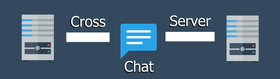 Cross Server Chat: Chat across servers with no setup!