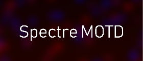 🔥✨ Spectre DarkRP MOTD 🔥✨ - 100% Customizable, Animated, Presets, and More
