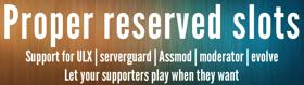 Proper Reserved Slots