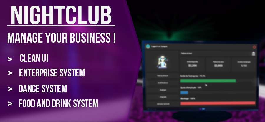 NightClub System 💋 | Manage your business ! 🍸