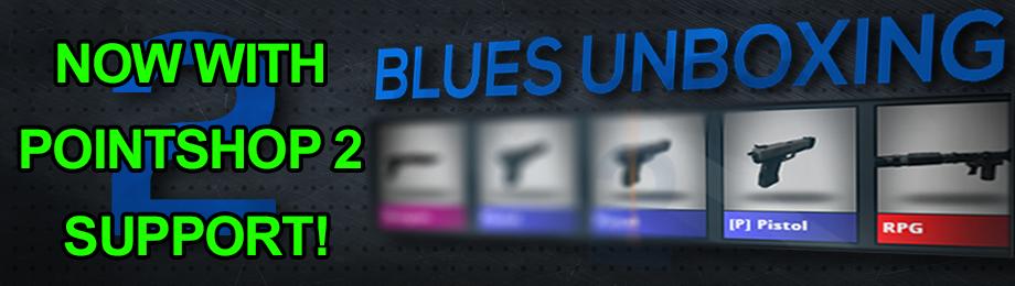 Blue's Unboxing 2! - CSGO Style Unboxing