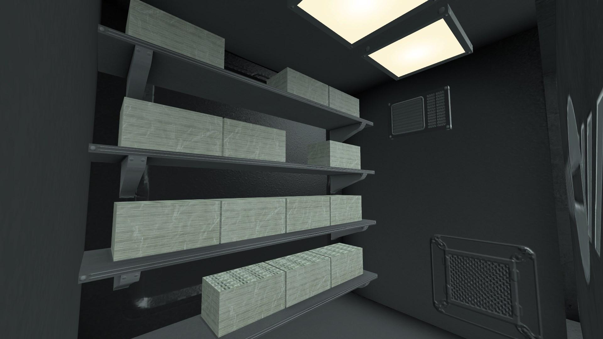 Vault interior