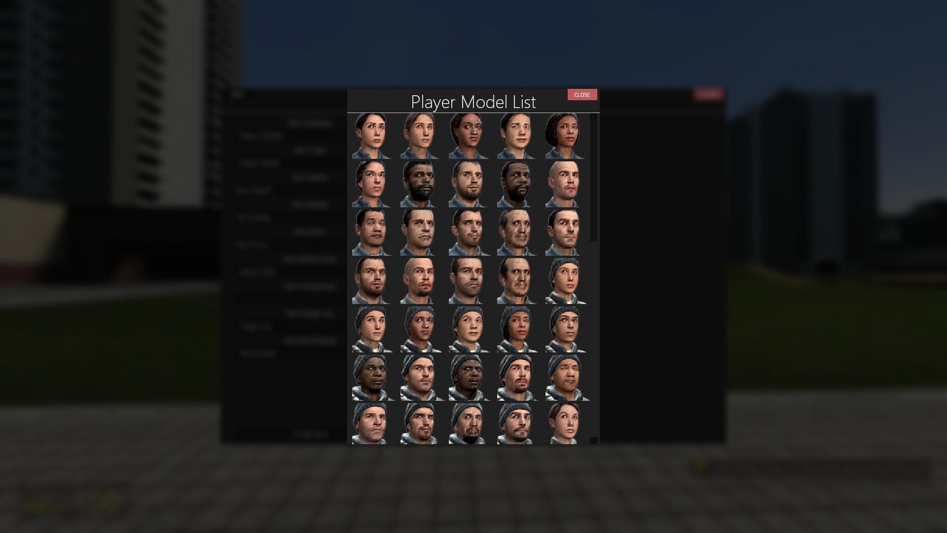 Gmod Player Model Maker