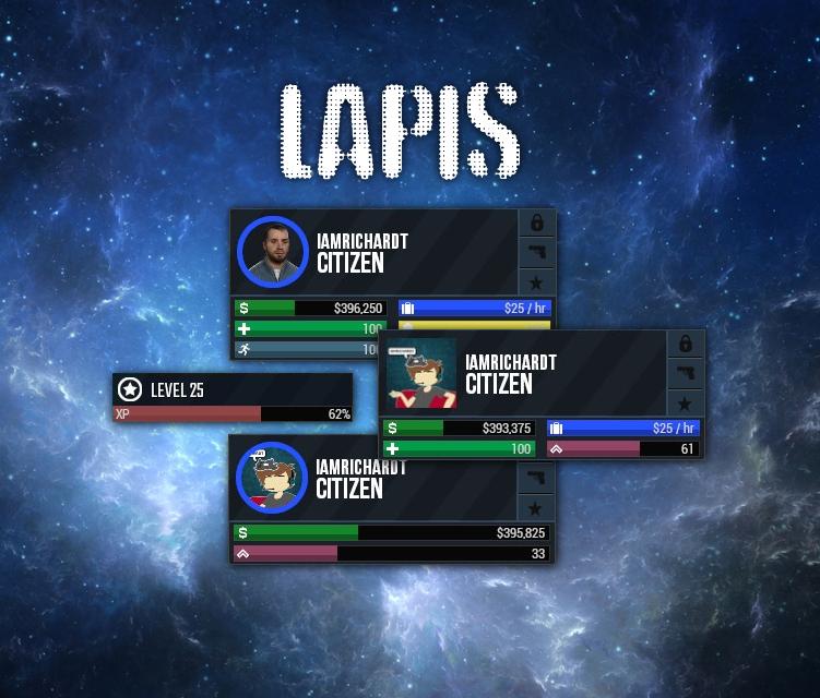 [Lapis] [DarkRP HUD] - Gemerosity Collection